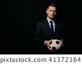 soccer, ball, portrait 41372164