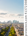skyline of Paris, France 41372368