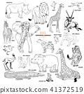bird cheetah elephant 41372519