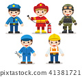 occupation,set,costume 41381721
