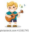 boy, child, guitar 41381745