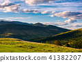 beautiful mountain landscape in afternoon 41382207