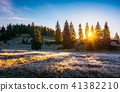 sunrise in the forests of Apuseni Natural Park 41382210