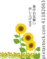 sunflower, sunflowers, summer 41382663