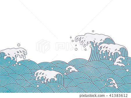 Qinghai wave wave Splashing (png, transmission, Kiri Niki) 41383612