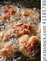 油炸的 油炸食品 鸡 41385786