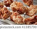 油炸的 油炸食品 鸡 41385790