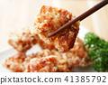 油炸的 油炸食品 鸡 41385792