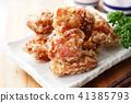 油炸的 油炸食品 鸡 41385793