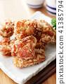 油炸的 油炸食品 鸡 41385794