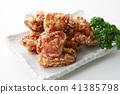 油炸的 油炸食品 鸡 41385798