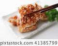 油炸的 油炸食品 鸡 41385799