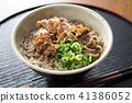 面条 荞麦面 日本食品 41386052