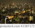 night scape, night scene, night scenery 41387172