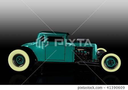 Hot Rod 3D render 41390609