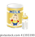 powdered milk, baby formula, baby bottle 41393390