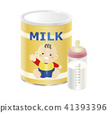 powdered milk, baby formula, baby bottle 41393396