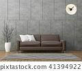 Modern loft living 3d render 41394922