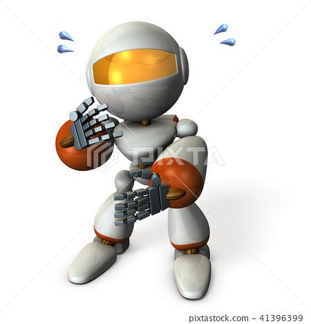 一个可爱的机器人,随意看着 41396399