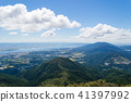 시가 権現山에서의 전망 비와코 41397992