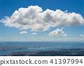 시가 権現山에서의 전망 비와코 41397994