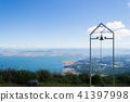 시가 打見山에서의 전망 비와코 41397998