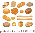 Bread, bakery products 41398618