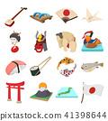 Japan icons set 41398644