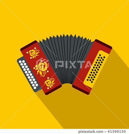 Accordion icon, flat style 41399130