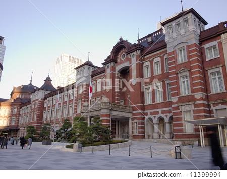 Evening Tokyo station Marunouchi station building (Marunouchi, Tokyo) 41399994