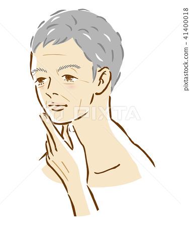 男性年齡皺紋美 41400018