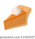 Piece of cake cartoon icon 41400207