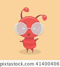 Cute ant cartoon. 41400406