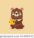 bear,vector,cartoon 41400542