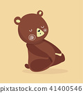 bear, vector, cartoon 41400546