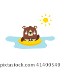 bear, vector, cartoon 41400549