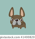 french bulldog design, pet and animal concept.  41400820