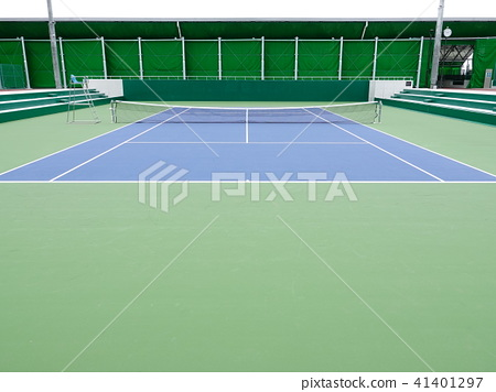 Tennis court 41401297