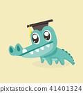 crocodile, alligator, vector 41401324