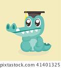 crocodile, alligator, vector 41401325