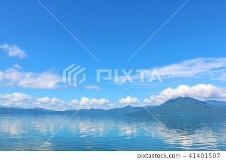藍天 天空 湖泊 41401507