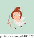 Boy Baby Cupid.  41403077