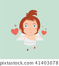 Boy Baby Cupid.  41403078