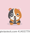Cute hamster. 41403779