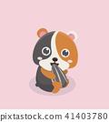 Cute hamster. 41403780