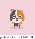Cute hamster. 41403783