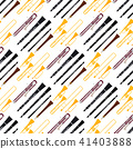 Wind musical instruments tools acoustic musician equipment orchestra seamless pattern background 41403888