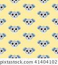 vector cartoon style koala seamless pattern 41404102