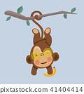 comic, vector, monkey 41404414