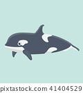 海豚 矢量 矢量图 41404529